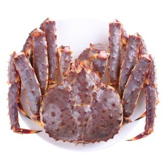 三寿涛 俄罗斯进口 鲜活帝王蟹 2-2.5kg 1只