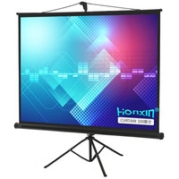 HONXIN 宏信 100英寸 4:3支架幕布