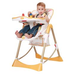 Aing 爱音 C002 儿童餐椅 橘色海星