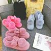 碧伦苏 女士冬季加绒拖鞋 19.9元包邮(需用券)