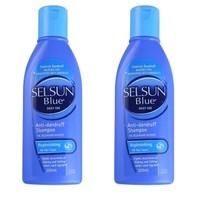 Selsun Blue 特效去屑止痒洗发水 蓝盖 200ml 2瓶装 *3件