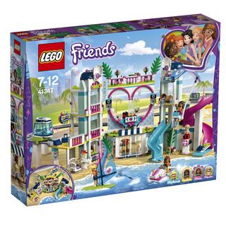 LEGO 乐高 Friends 好朋友系列 41347 心湖城度假区