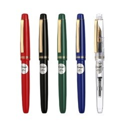 PILOT 百乐 fp-78G+ 钢笔 含吸墨器 多颜色/笔尖可选 赠字帖+笔套