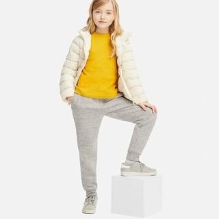 UNIQLO 优衣库 儿童仿羊羔绒运动长裤