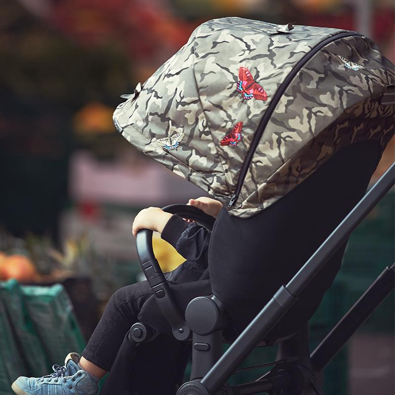 Cybex 赛百适 PRIAMBUT 可折叠高景观婴儿四轮推车 蝴蝶