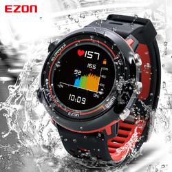 EZON宜准运动手表男电子智能手表GPS心率多功能马拉松跑步手表E2