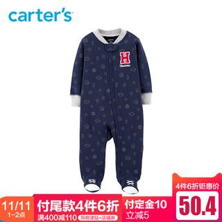 Carter's 男宝包脚全棉连体衣
