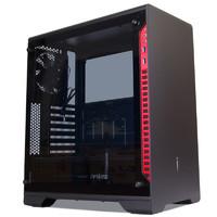 普力魔 P66E魔方ATX全铝台式机玻璃侧透电脑主机箱 游戏水冷机箱