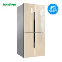 Ronshen 容声 BCD-456WD12FPAC 多门冰箱 (金色、456L)