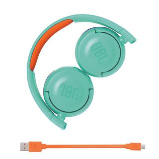JBL 杰宝 JR300BT 无线蓝牙耳机 (通用、头戴式、32Ω、 蓝色)