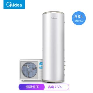Midea  美的 KF66/200L-TM  空气能热水器  200升