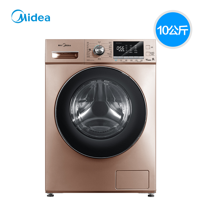 Midea 美的 MG100V76DQCJ5 10公斤 滚筒洗衣机