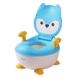 世纪宝贝(babyhood)儿童坐便器 婴儿便盆尿盆小马桶男女宝宝通用 小狐狸抽屉便糟 湖蓝色 BH-113C *4件