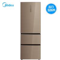 Midea 美的 BCD-326WGPZM 326L 三开门式电冰箱