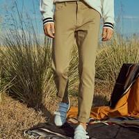 A21 男士弹力修身休闲裤