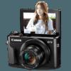 Canon 佳能 PowerShot  G7 X Mark II 1英寸数码相机(8.8-36.8mm、F1.8-F2.8)
