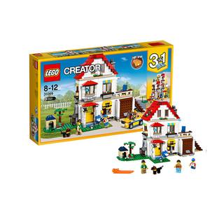历史低价、网易考拉黑卡会员 : LEGO 乐高 创意百变系列 31069 家庭别墅