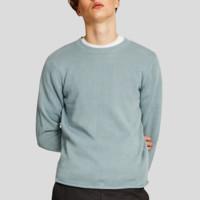 URBAN REVIVO ML04R9BN2002 男士苎麻棉针织衫