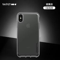 Tech21 Pure Clear for Wallington 苹果iPhone Xs Max 6.5英寸 防摔手机壳 烟熏透明色