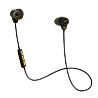 JBL 杰宝 UA库里版 蓝牙耳机 (通用、后挂式、 黑黄色)