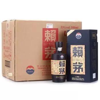 赖茅 传承蓝 53度 500ml*6瓶 整箱装 酱香型白酒(新老包装随机发货)  贵州茅台酒股份有限公司出品