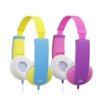 JVC 杰伟世  HA-KD5 耳机 (通用、头戴式、32Ω、黄色 紫罗兰)