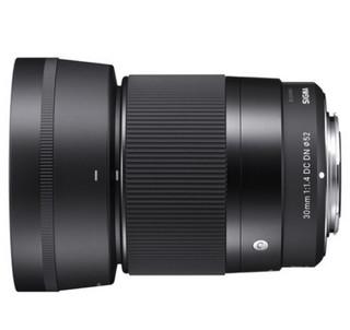 SIGMA 适马 Contemporary 30mm F1.4 DC DN 微单镜头 索尼微单E卡口 定焦a6000 黑色