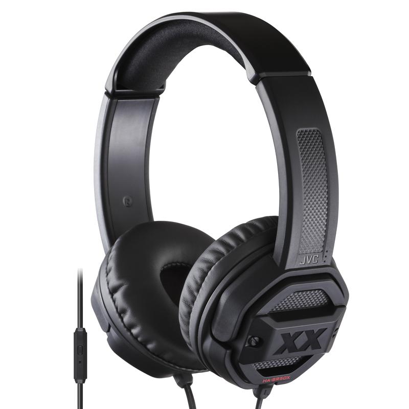 JVC 杰伟世 HA-SR50X 耳机 (通用、头戴式、黑色)