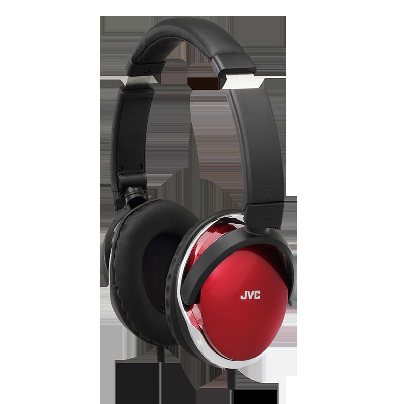 JVC 杰伟世 HA-S660 耳机 (头戴式、通用、36Ω、 白色 酒红色 紫色 黑色)