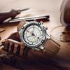 TIMEX 天美时 T2N721 手表 (圆形、皮革、45mm)