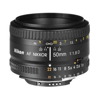 AF NIKKOR 50mm f1.8D 标准定焦镜头