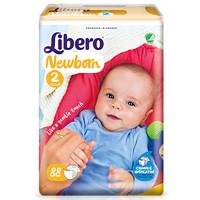 Libero 丽贝乐 comfort 新生儿通用尿不湿NB+88片*1包 (3-6kg)