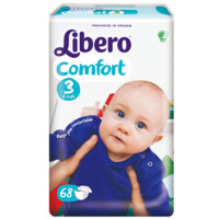 Libero 丽贝乐 婴儿纸尿裤 S68片