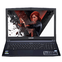 Hasee/神舟战神 游戏本 Z7-KP7GC/EC/GZ八代六核酷睿i7-8750H 独显GTX1060 6G大显存 手提学生吃鸡笔记本电脑