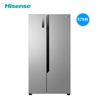 Hisense  海信 BCD-579WFK1DPUT  双开门冰箱