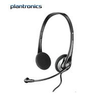 plantronics 缤特力 326 耳机 (通用、头戴式、黑色)
