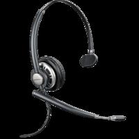 plantronics 缤特力 HW710 耳机 (可切换、头戴式、黑色)