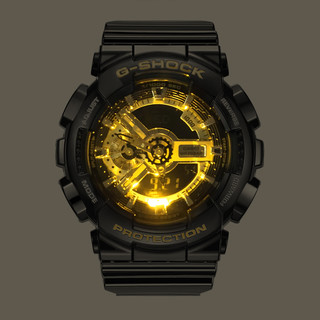 CASIO 卡西欧 GA-110GB-1A 电子男士手表