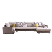 双虎家私 022 U型现代简约沙发