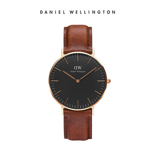 Daniel Wellington DW00100136 女士手表 (不锈钢、圆形)
