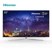 Hisense 海信 H55E9A 55英寸 4K HDR ULED 量子点电视