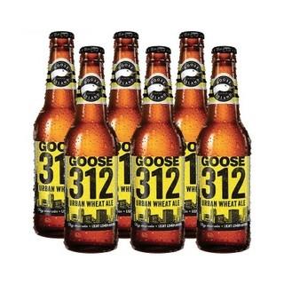 双11预售 : GOOSE ISLAND 鹅岛 312 都市小麦啤酒 355ml*12瓶