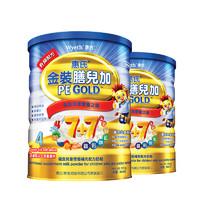 Wyeth 惠氏 金装膳儿加 偏食幼儿配方奶粉 4段 900g*2罐 (36个月以上)