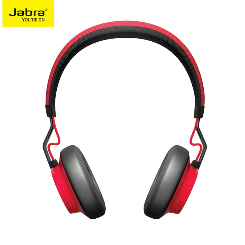 Jabra 捷波朗 Move Wireless 无线蓝牙耳机 (通用、头戴式、黑色)