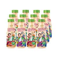 伊利 畅意100%乳酸菌饮品 草莓味  330ml*12瓶