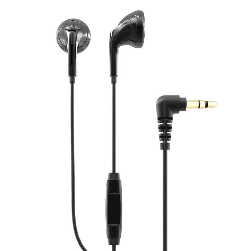 飞傲(FiiO) EM3S em3k动圈入耳式平头塞耳机hifi线控带麦魔音重低音耳塞 EM3S线控带麦 *4件