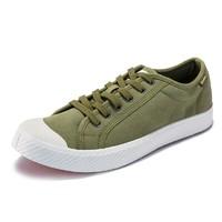 PALLADIUM 男士 低帮帆布鞋 布 板鞋 75733-A 军绿色、42