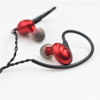 FiiO 飞傲 F9 SE 耳机 (通用、圈铁结合、入耳式、黑色)