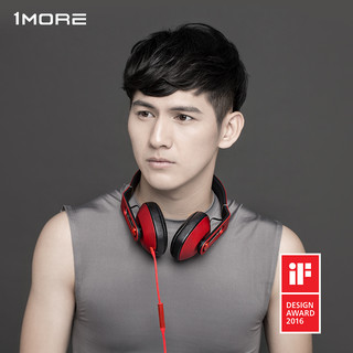 1more 万魔 MK801 耳机 (通用、动圈、头戴式、32Ω、红色)