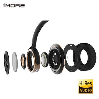 1more 万魔 H1707 耳机 (通用、圈铁结合、头戴式、32Ω、 黑金色)